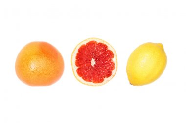 composition of grapefruits and lemon