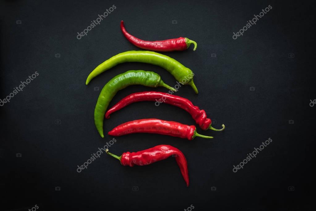 fresh chili peppers