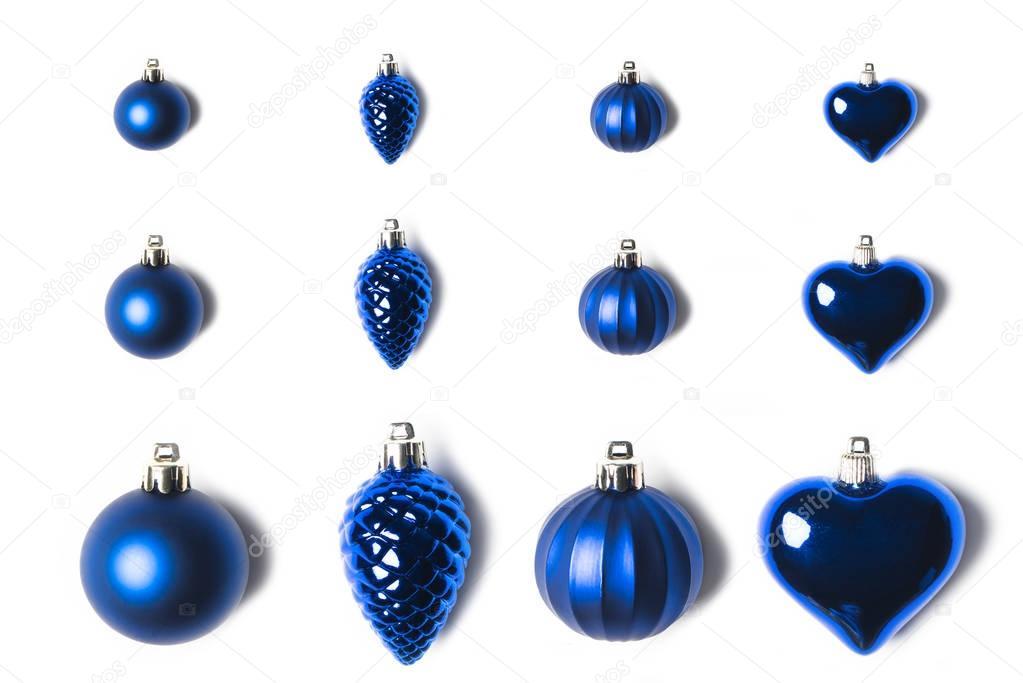 various arranged christmas toys