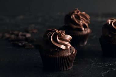sweet chocolate cupcakes