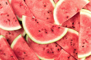 watermelon slices background