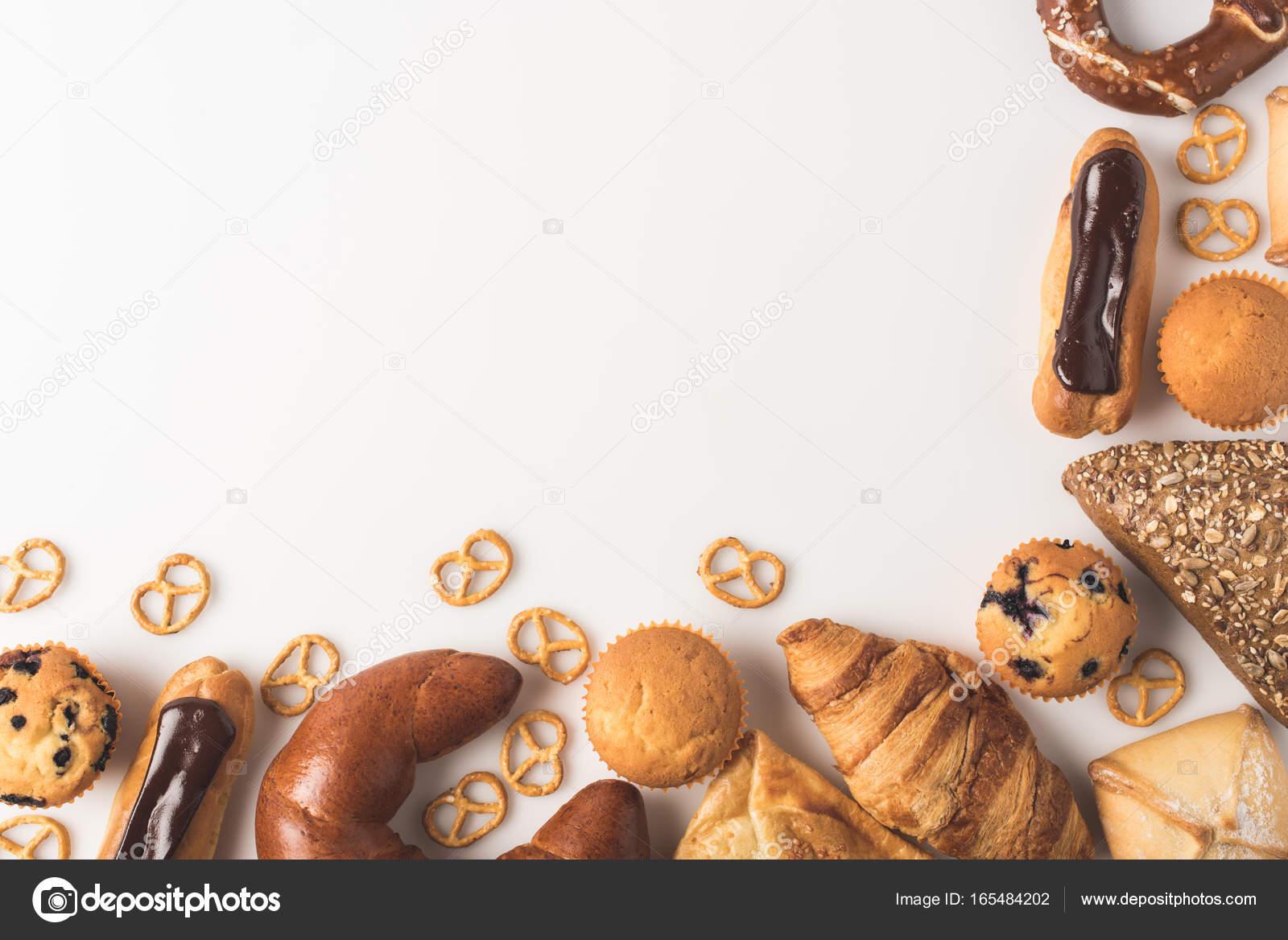 Background Sweet Bakery Sweet Bakery Background Stock