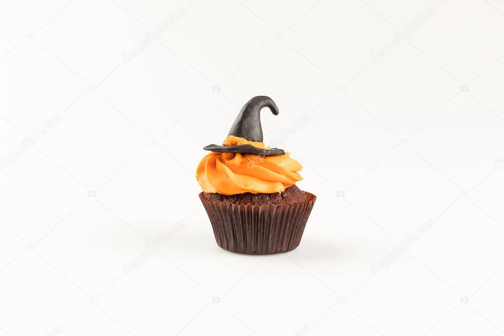 decorative halloween cupcake