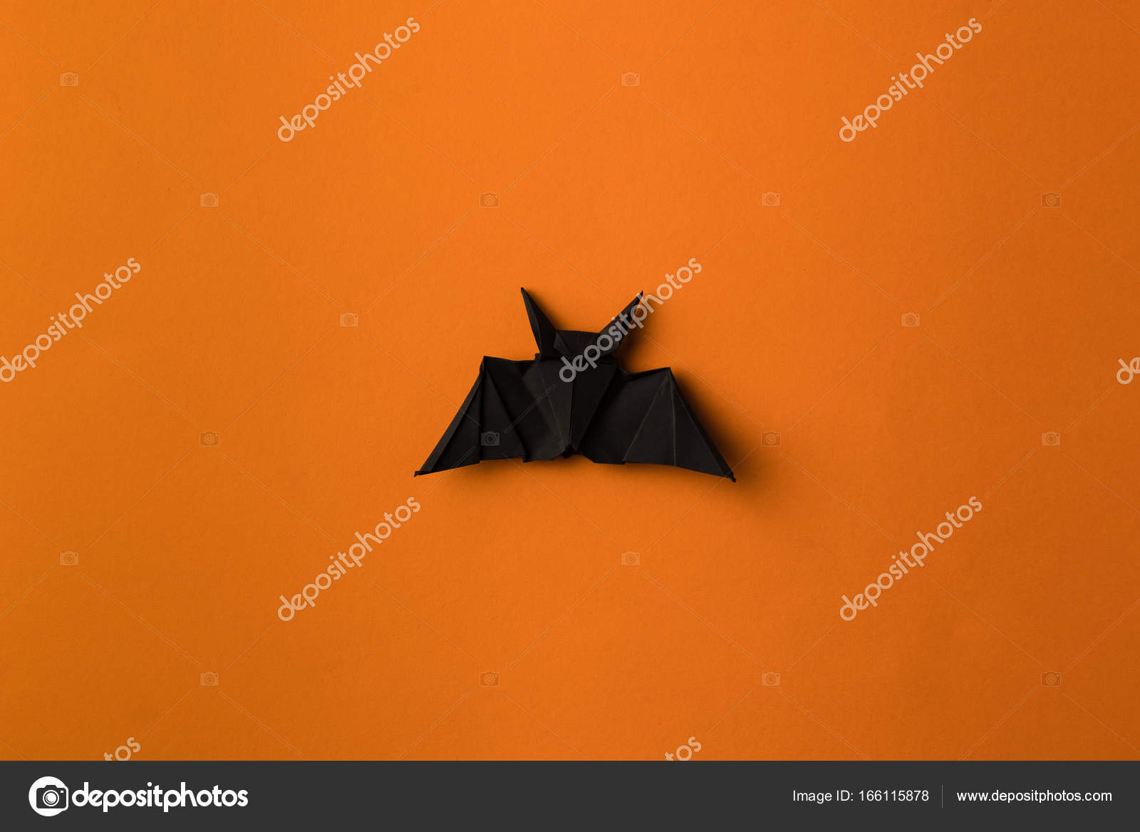 Halloween origami bat stock photo antonmatyukha 166115878 black halloween origami bat isolated on orange photo by antonmatyukha jeuxipadfo Gallery