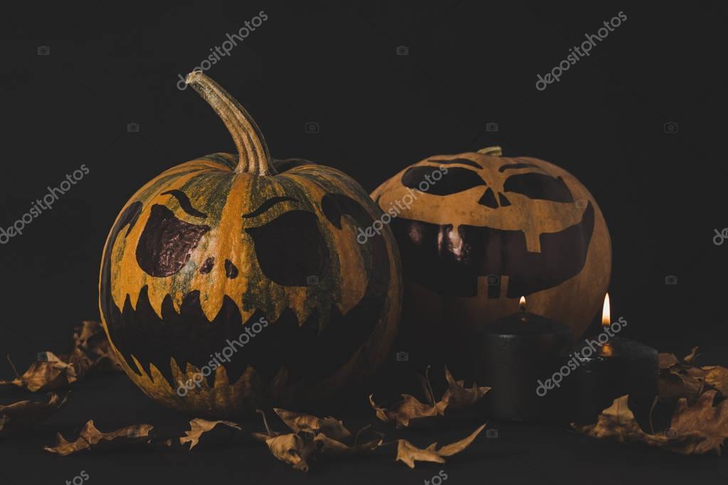 pumpkins for halloween celebration