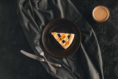 piece of homemade pie
