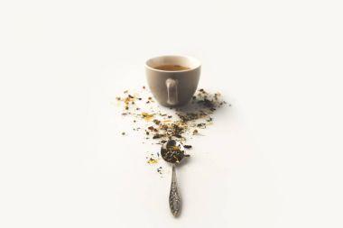 herbal tea in cup