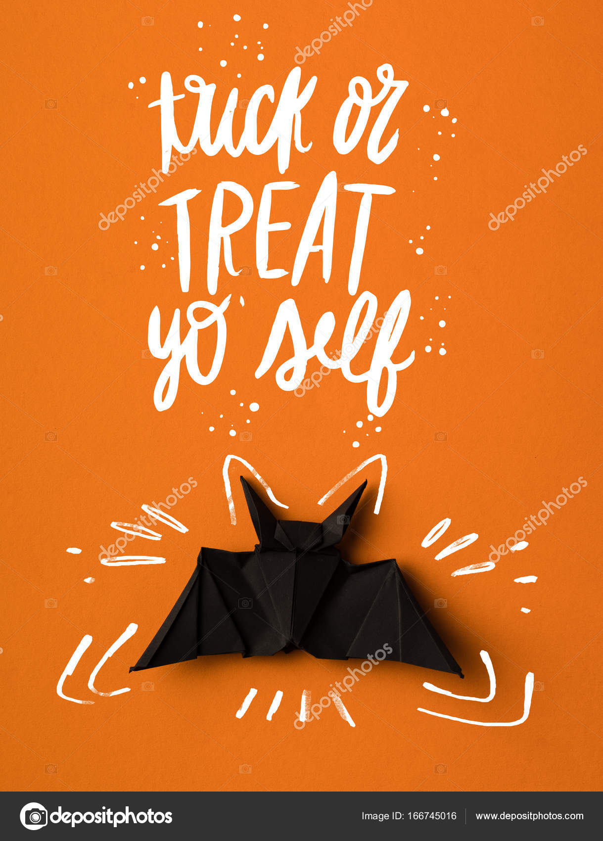 Halloween origami bat stock photo antonmatyukha 166745016 black halloween origami bat isolated on orange photo by antonmatyukha jeuxipadfo Gallery