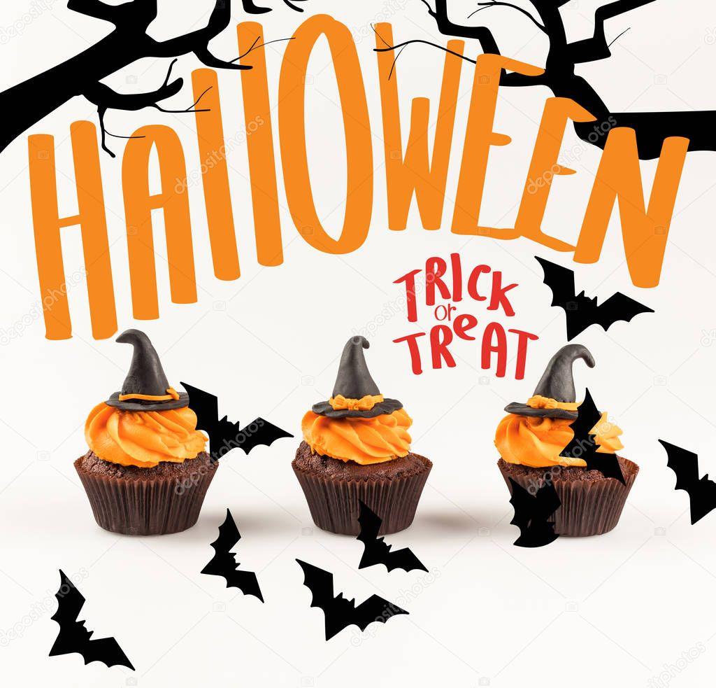 delicious halloween cupcakes