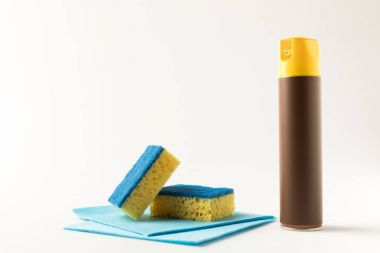 cleaning product and sponges
