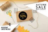 Herbst-Sale-Konzept