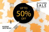 Photo autumn sale concept