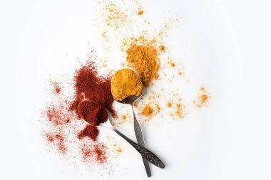 paprika and curry