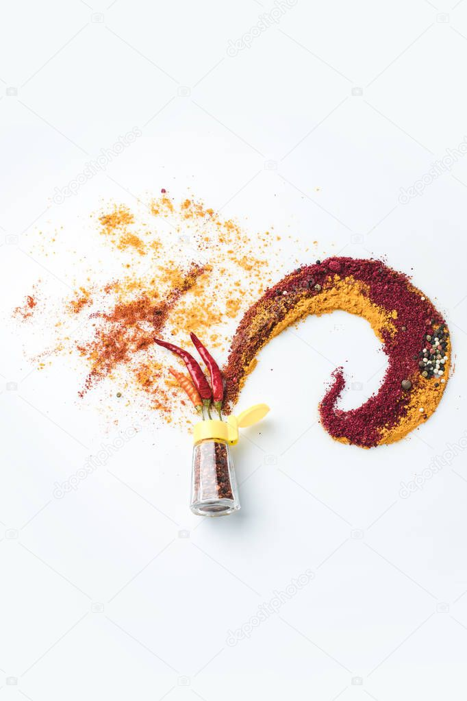 assorted spices composition