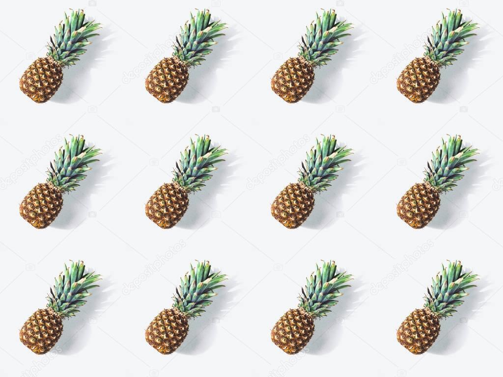 ripe pineapples