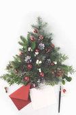 Vánoční strom a dopis