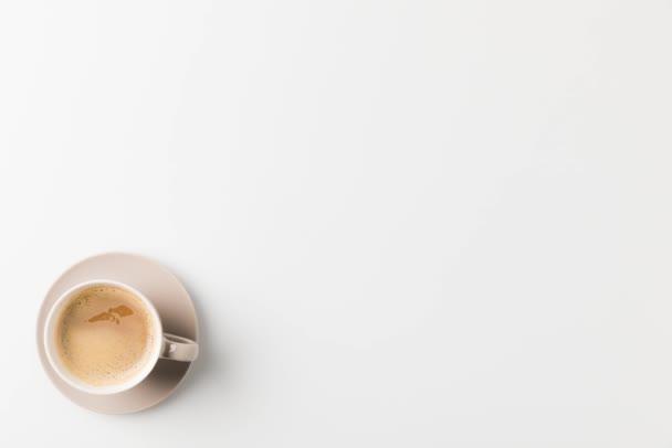 Spinning csésze kávé