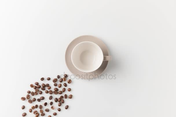 coffee preparing in cup