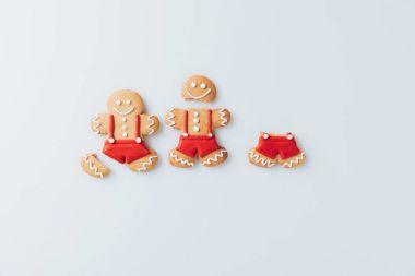 crashed Gingerbread men