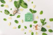 handcrafted green soap