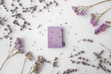 handcrafted lavender soap