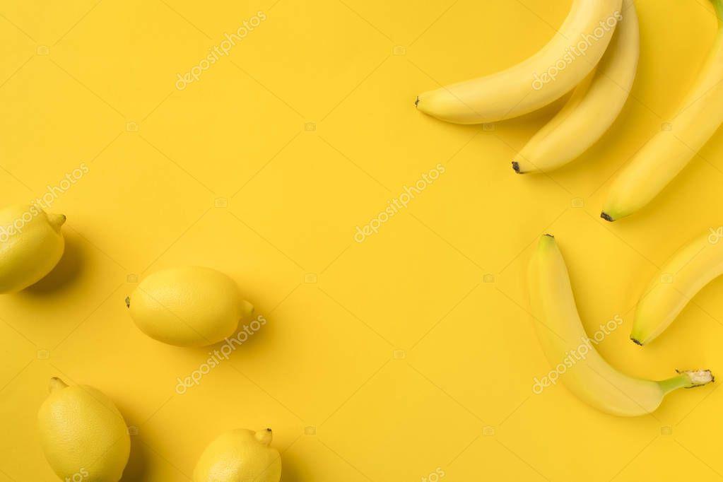 bananas and lemons