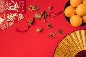 keleti díszítések és mandarin