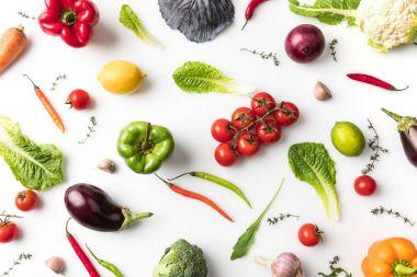 unprocessed vegetables