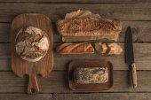 škála čerstvý domácí chléb