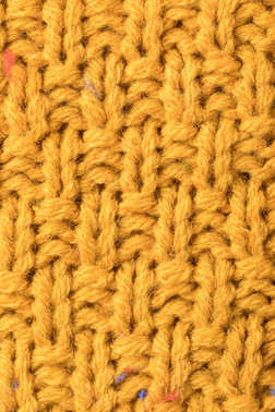 Texture of warm sweater
