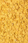 Photo full frame background from delicious crunchy corn flakes