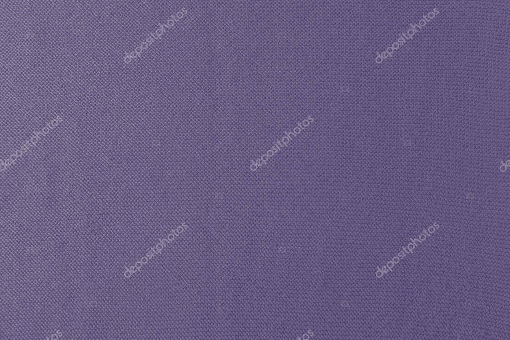 close up view of purple woolen fabric texture