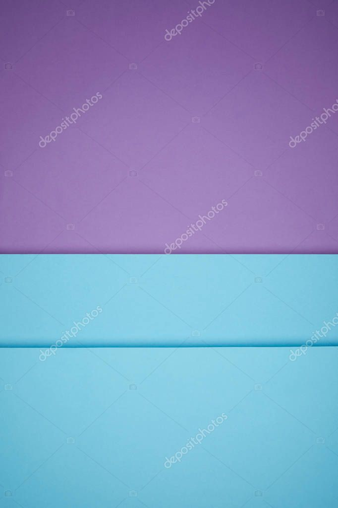 beautiful bright blue and violet geometric paper background