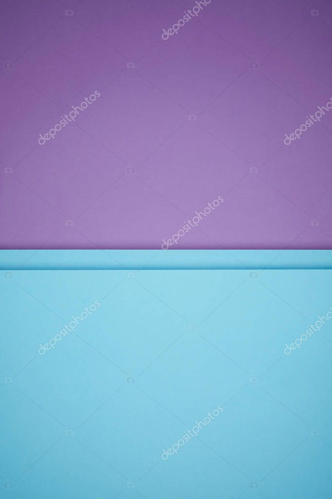 beautiful bright blue and purple geometric paper background