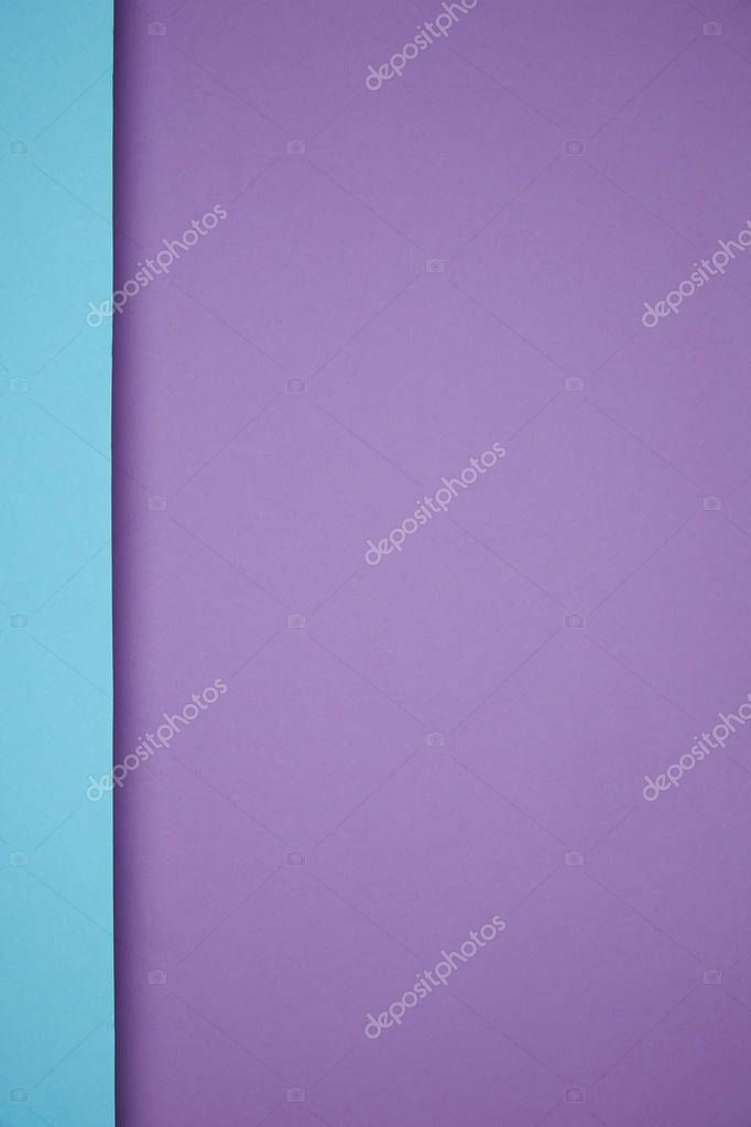 beautiful bright geometric blue and purple paper background