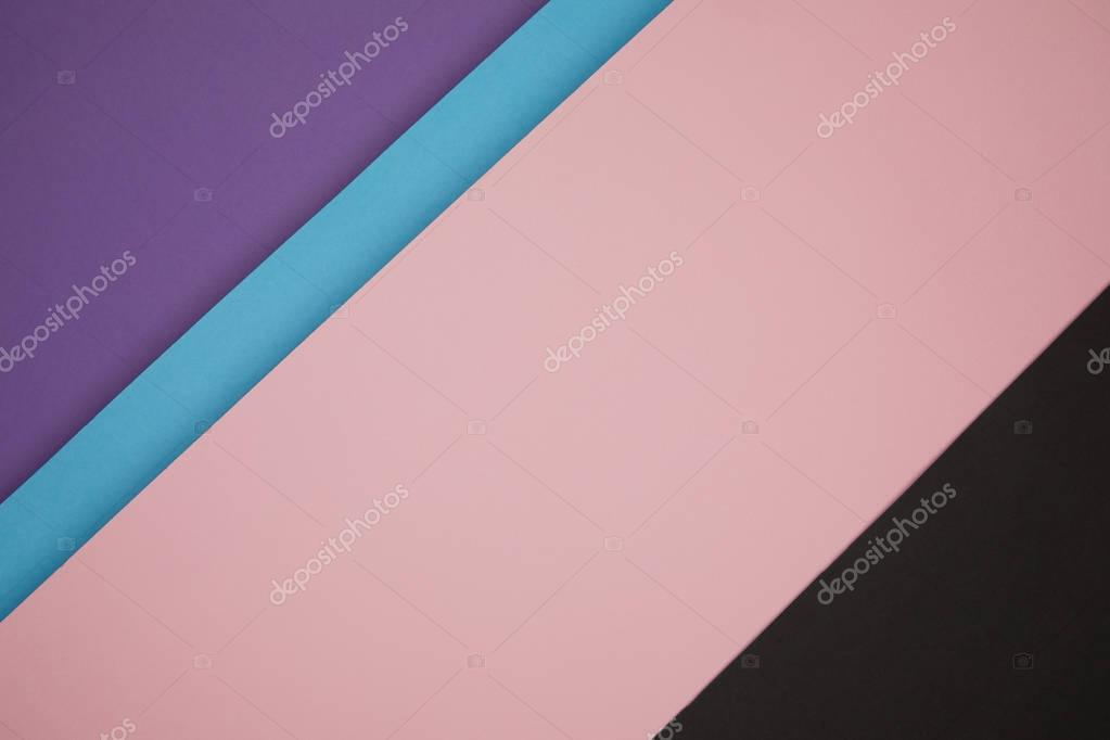 colorful abstract geometric background made from colored paper