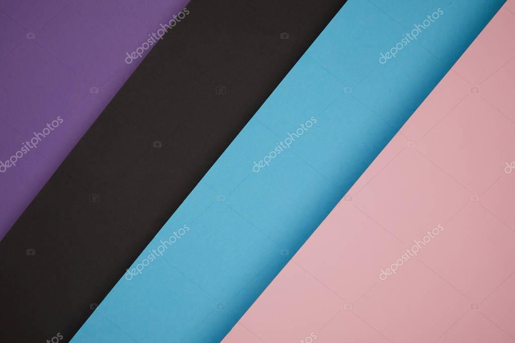 abstract colorful geometric background made from colored paper