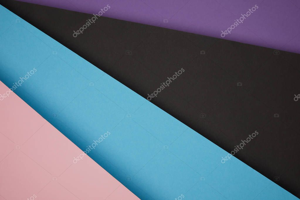 abstract geometric background made from colored paper