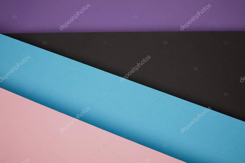 beautiful abstract geometric background made from colored paper
