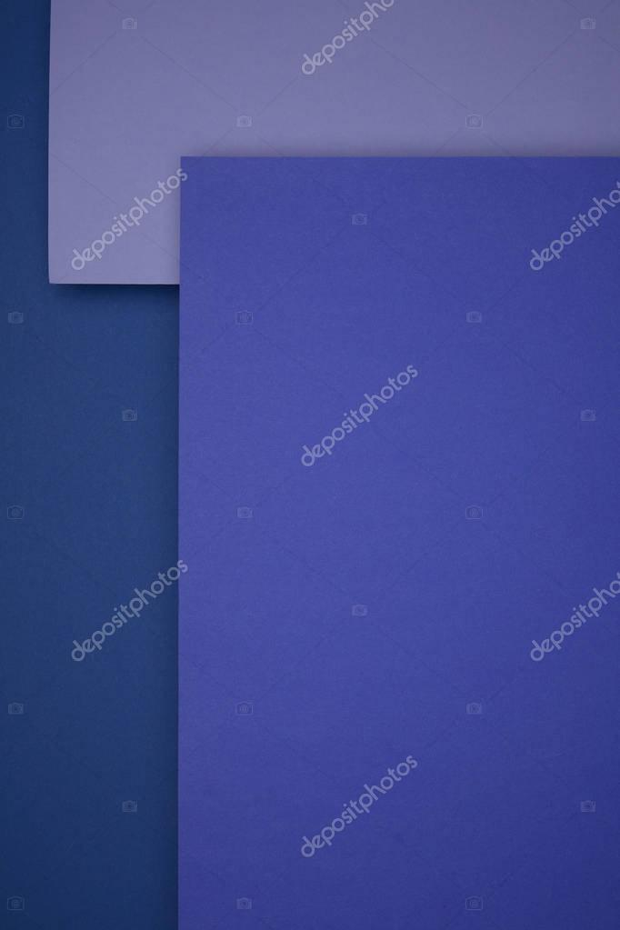 beautiful blue and purple geometric paper background