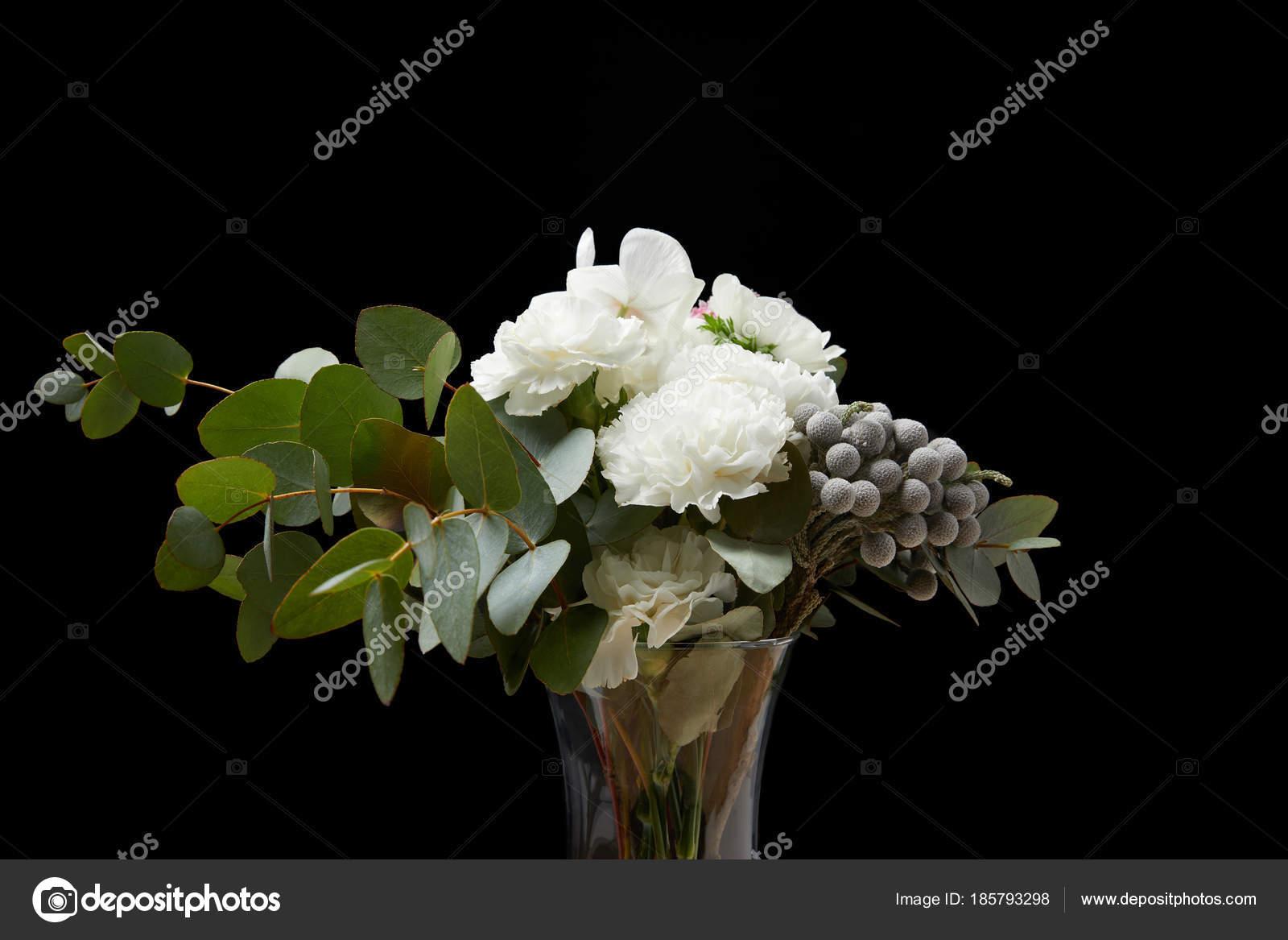 Tender flowers vase isolated black stock photo antonmatyukha tender flowers vase isolated black stock photo reviewsmspy