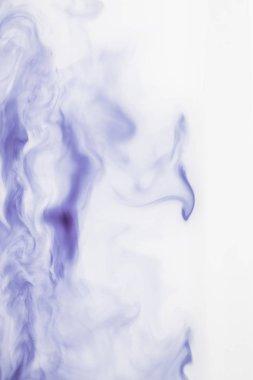 abstract light purple splashes on ink