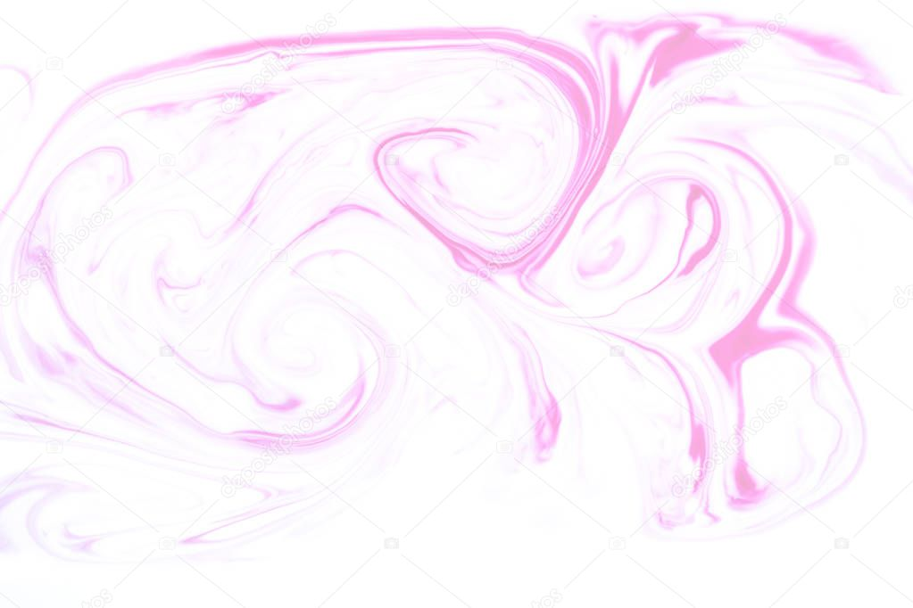 Abstract light texture with pink ink stock vector