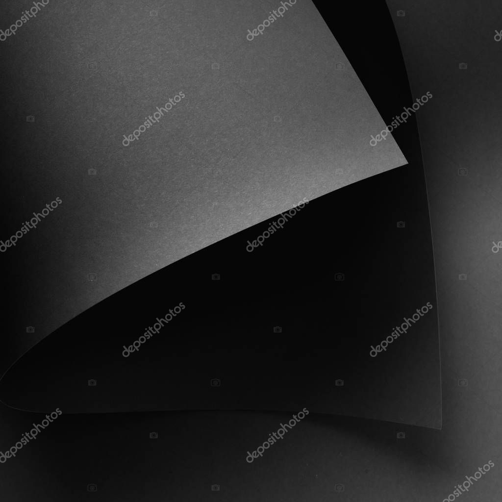 Blank abstract grey and black monochrome background stock vector