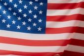 full frame image of united states of america flag