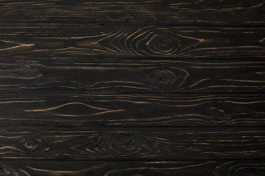 full frame image of dark wooden surface background