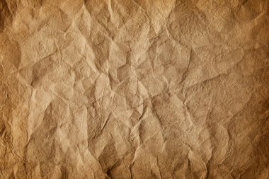 full frame image of old crumpled paper background
