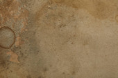 top view of vintage dirty beige paper texture with copy space