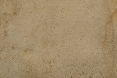 Top view of vintage dirty beige paper texture with copy space stock vector
