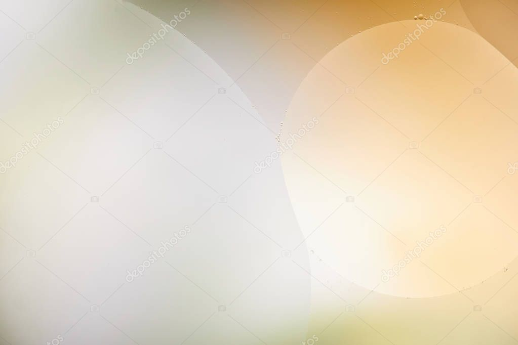 Beautiful abstract background from mixed water and oil in orange and grey color stock vector